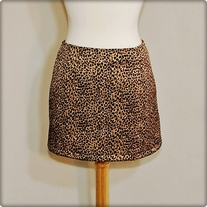 Short Leopard Skirt