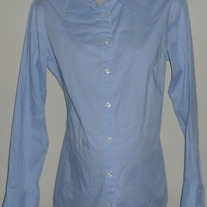 Blue Oxford Shirt-Gap Maternity Size Large