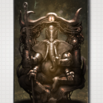 """GANESH"" iPhone Case 4/4S"