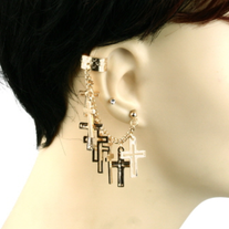 Cross Earcuff