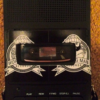 "Portable ""Working Man Records"" Cassette Deck"