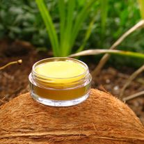 Coconut Lip Balm, in a Pot