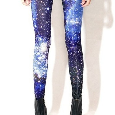 Bright starry tights