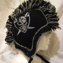 Oakland Raiders Mohawk Hat