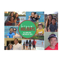 printable holiday card | holiday collage