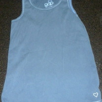 Navy Blue Tank Top-Gap Size 8