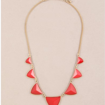 Lilia red necklace