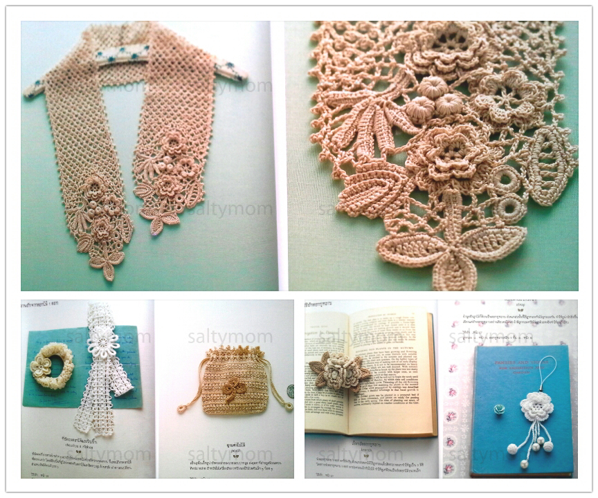Free Irish Crochet Bag Pattern : Irish Crochet Pattern Book ? saltymom ? Online Store ...