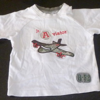 Jr Aviator Shirt-Starting Out Size 24 Months