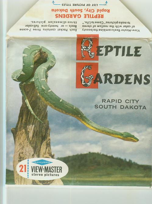 Viewmaster Trading Post 3D | Reptile Gardens SD Viewmaster Packet ...