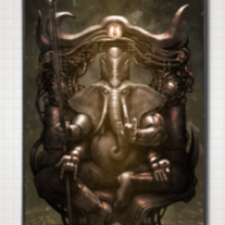 """GANESH"" iPhone Case 5"