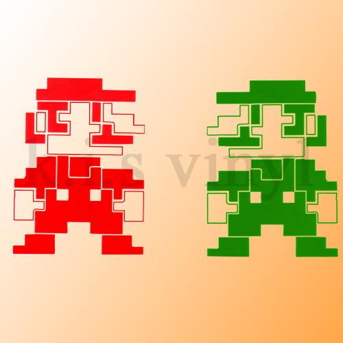 8-Bit Mario and Luigi in MC by kingquagmire1 on DeviantArt