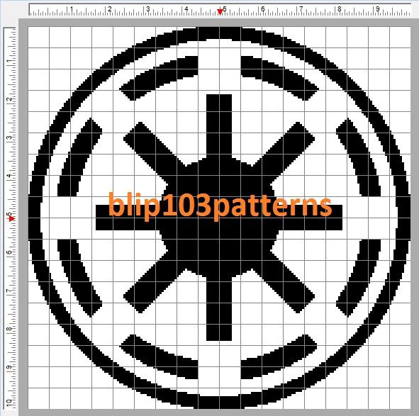 Blip103 Patterns Star Wars Emblem Of The Galactic Republic Symbol