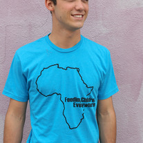 """Feeding Children Everywhere: Africa"" - Teal"