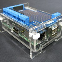 Clear Raspberry Pi Enclosure Kit - Thumbnail 1