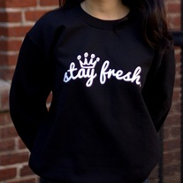 Stay Fresh Sweatshirt - Black