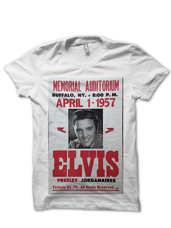 Elvis Vintage Poster T Shirt Classic Elvis Shirts Elvis