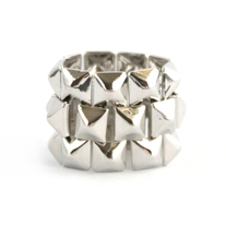 Square Link Ring (More Colors Available)