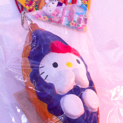 Super rare* hello kitty squishy