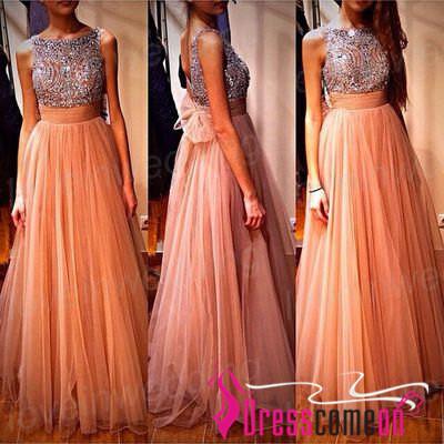 Orange Tulle Dress