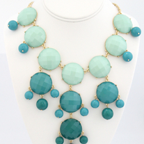 Modern Bubble Bib Statement Necklace (More Colors Available)