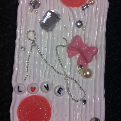 Classic love decoden iphone 4/4s case