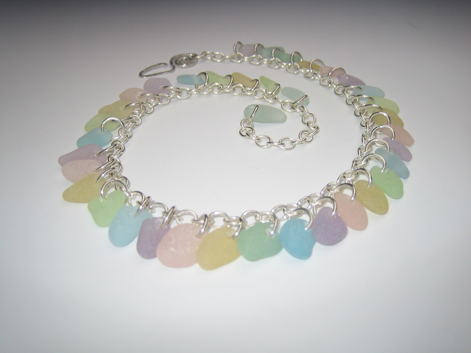 Rainbow Sea Glass