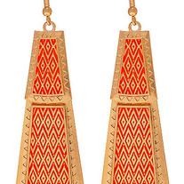Aztec Layer Earrings