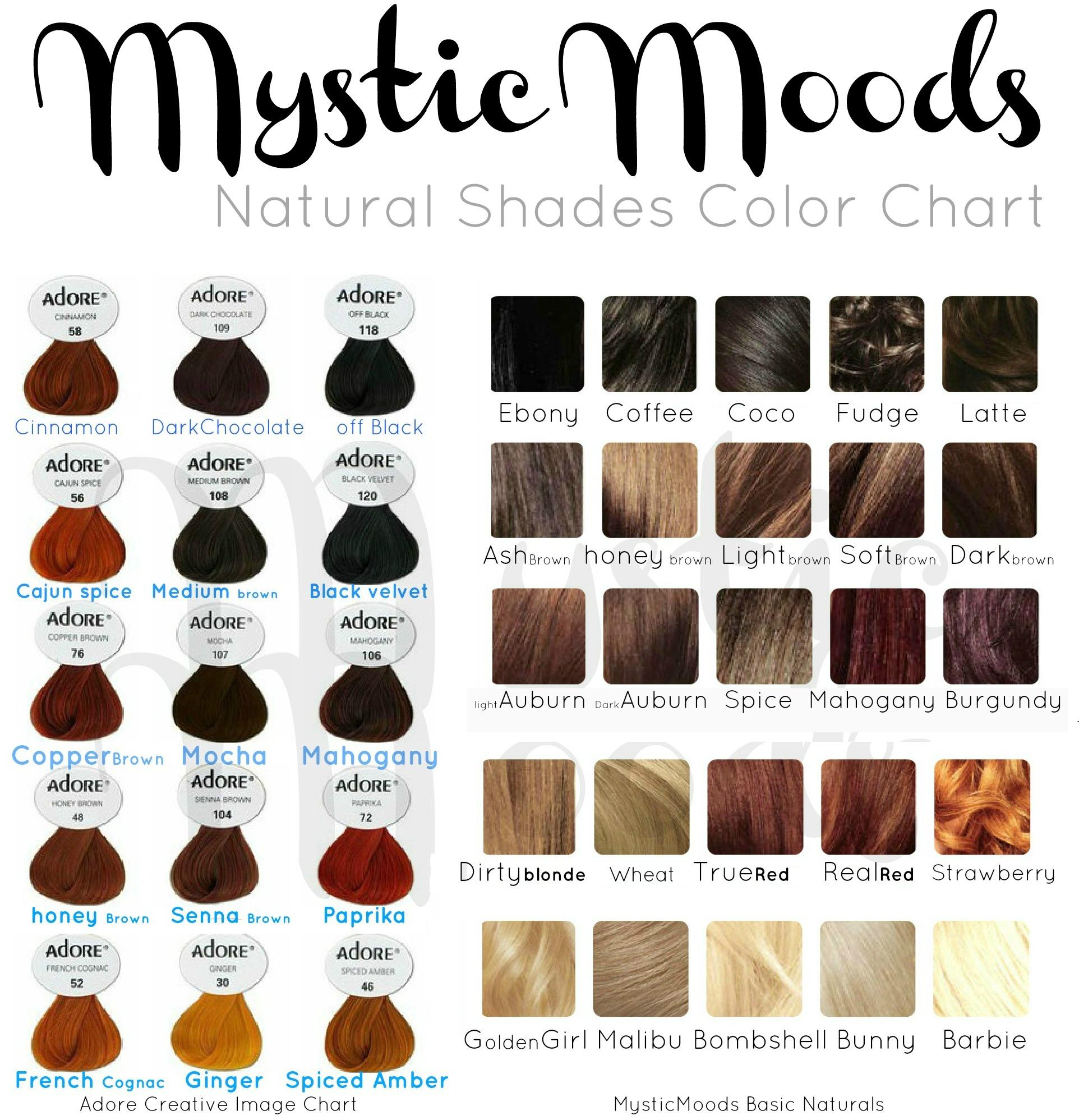 Brown Hair Shades Color Chart Dark Brown Hairs Of Hair