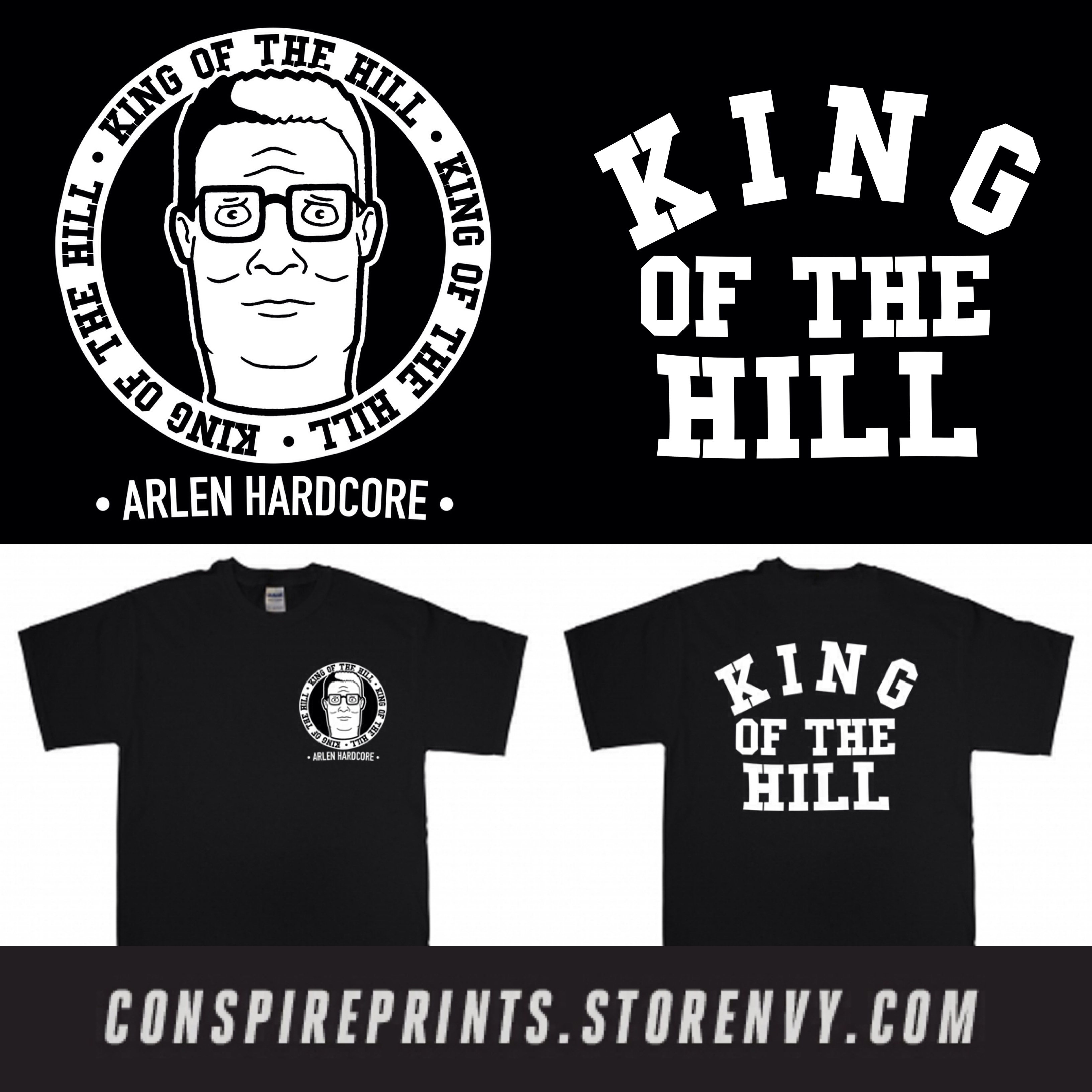 King of The Hill Shirt King of The Hill Arlen
