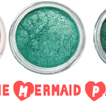 The Mermaid Party Eyeshadow Stack