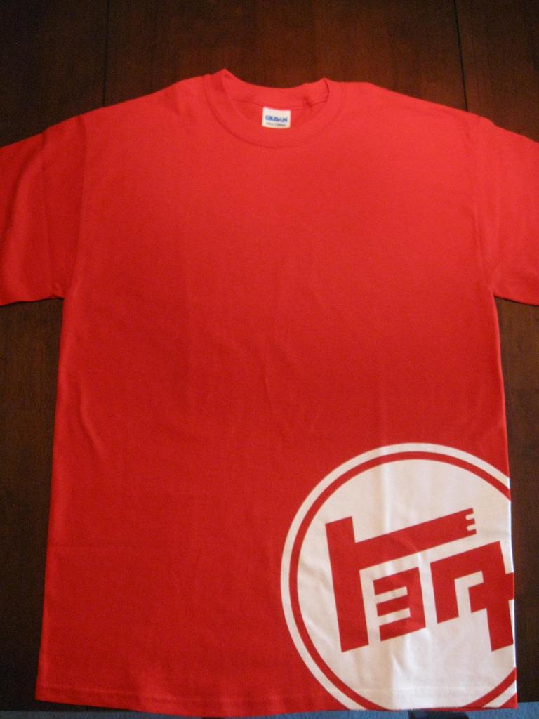 Toyota Japanese Logo Toyota Teq Logo Shirt Red