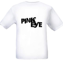 Pink Eye Logo Tee (Black)