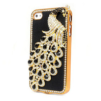 Black Peacock Case (iPhone 4 4s)