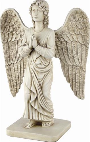 archangel gabriel annunciation standing statue a 026s museumize