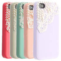 IPHONE 4 & 5 PEARLS CASE