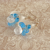 Winter Wedding Earrings