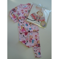 Books To Bed- Birdie's Big Girl Dress PJ and Book Set