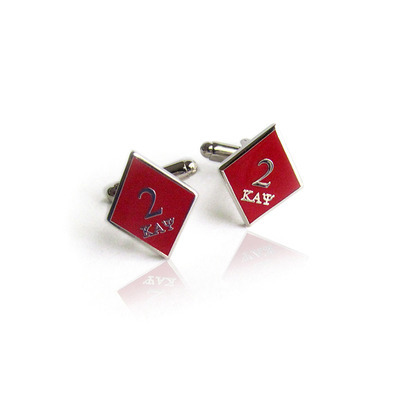 Deuce klub kappa alpha psi diamond cufflinks