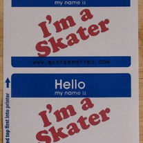 Dr. Skater sticker