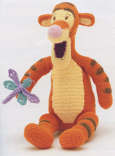 Tigger Crochet Pattern (Digital Delivery Only)