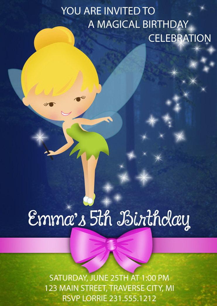 Tinkerbell invitation tinkerbell birthday invitations fairy tinkerbell invitation tinkerbell birthday invitations fairy tinkerbell invites filmwisefo