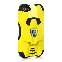 Yellow Lux Car Case (iPhone 5)