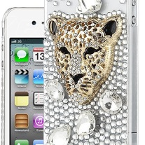 Lion Head Crystal Case