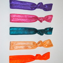 The Sarah Set- 5 No-Crease Hair Ties