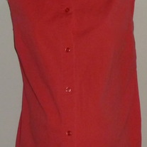 Bright Pink Sleeveless Top-In Due Time Size XL