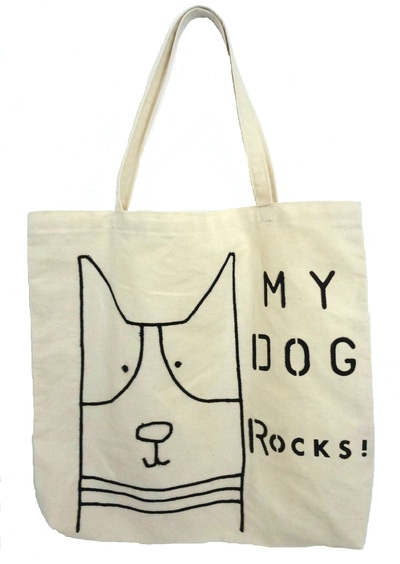 Tote Bag - My Dog Rocks