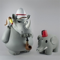 William Reginald and Henry by Frank Kozik