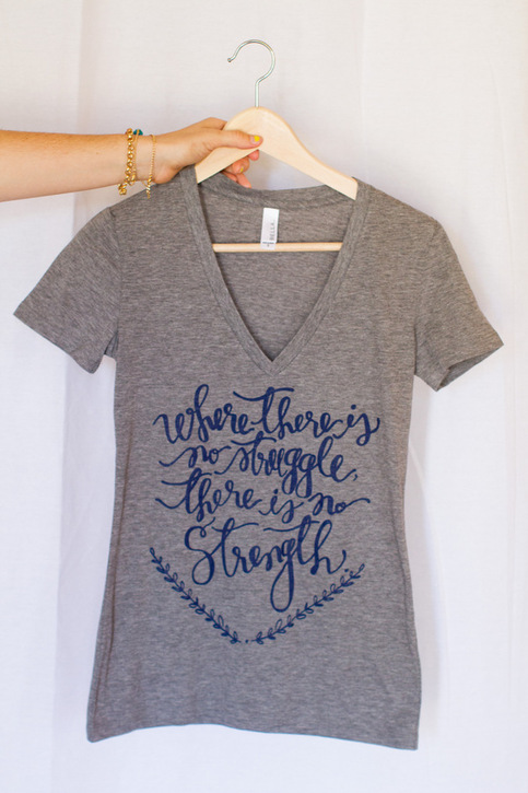 Strength V Neck