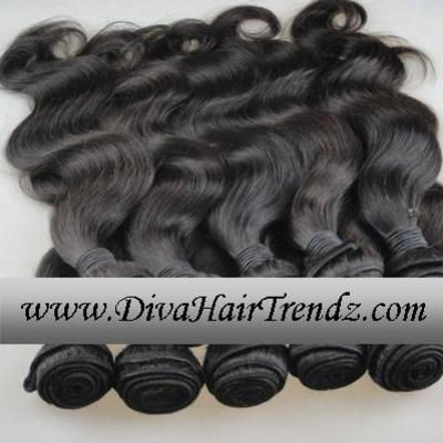 "20"", 22"", 24"" & 26"" grade 5a sassy brazilian remy body wave or straight hair [4 bundles]"